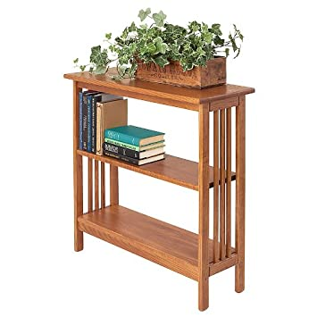 "Manchester Wood Mission 30"" Bookshelf - Golden Oak"