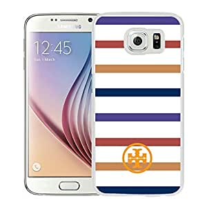 Fahionable Custom Designed Samsung Galaxy S6 Cover Case With Tory Burch 06 White Phone Case