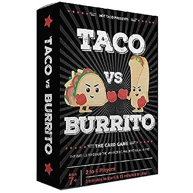 Taco vs Burrito Card Game