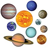 Beistle Solar System Cutouts (Prtd 2 Sides) RED, BLUE