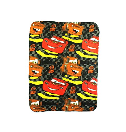 The Northwest Company Disney Cars Checkerboard Mater Character Fleece Throw Blanket, 40 x 50-inches