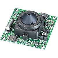 KT&C ACE-S360EHP4 420TVL B/W Board Module Camera, 4.3mm Super Cone Pinhole Lens
