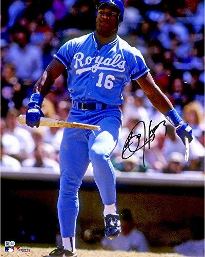 Bo Jackson Kansas City Royals Autographed 16