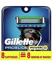 Gillette ProGlide Power Men's Razor Blade Refill Catridges, 8 Count