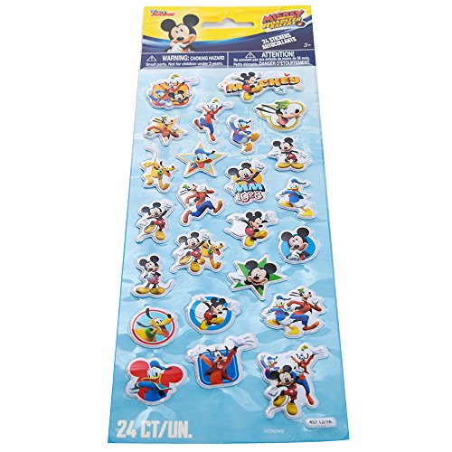 Mickey Mouse Puffy Sticker Sheet