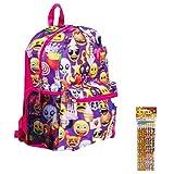 Emoji Kids Backpack & Pencils Pack Review