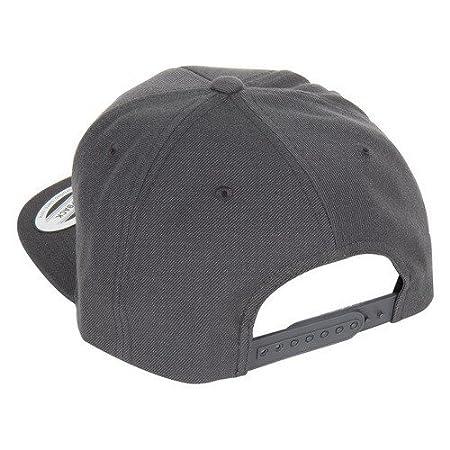 RBP RBP-SB603-GBR Gray Trucker Hat (Black Brim - Red Star)