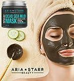 Aria Starr Dead Sea Mud Mask For Face, Acne, Oily
