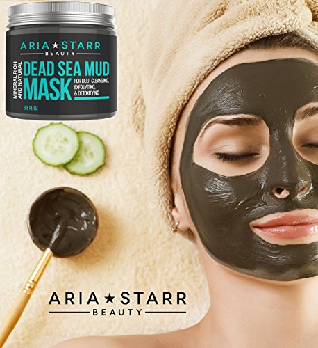 Aria-Starr-Beauty-Natural-Dead-Sea-Mud-Mask-88-Ounce