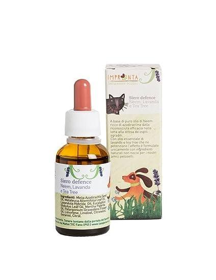 LA SAPONARIA - Suero de Defensa - Adecuado para perros y gatos - Aceite puro de