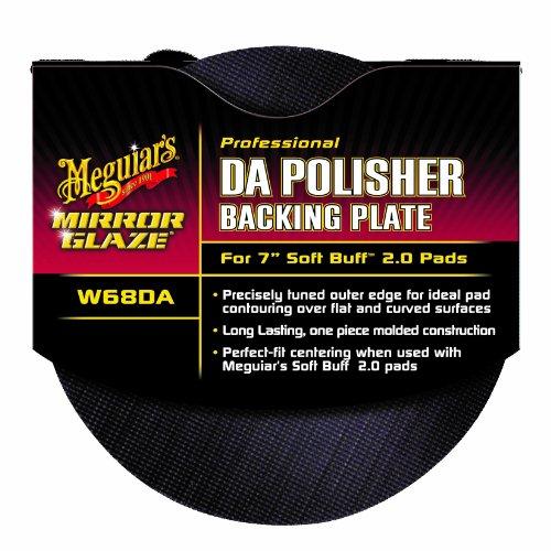 "Meguiar's W68DA Mirror Glaze Professional DA Polisher Backing Plate for 7"" Soft Buff 2.0 Pads"