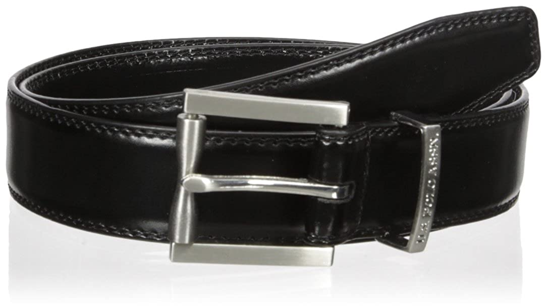 Dress Stitched Edge Mens Belt