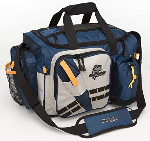 Okeechobee Fishing Tackle Bag, X-Large (Okeechobee Fats Medium Soft Sided Tackle Bag)