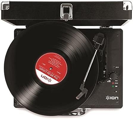 ION Audio Vinyl Motion - Giradiscos Portátil de Tres ...