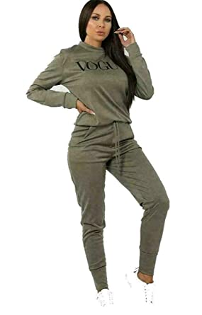 EDGE Vogue - Chándal para Mujer (Talla S a 3XL): Amazon.es: Ropa y ...