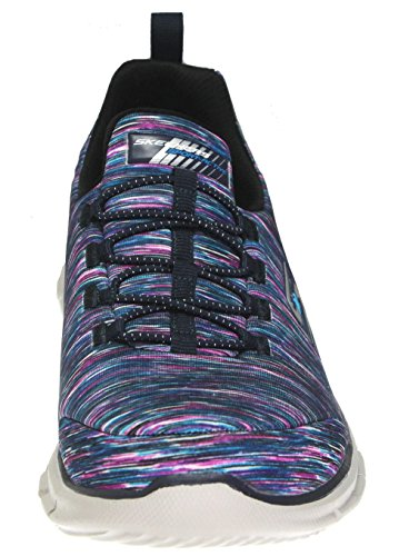 discount for cheap Skechers Sport Women's Glider Electricity Sneaker Navy/Multi Stripes buy for sale cheap price top quality cheap huge surprise uvZNgTgfzi