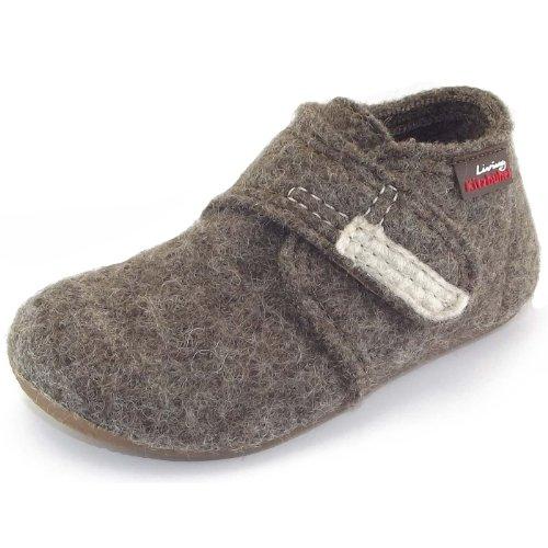 Living Kitzbühel - Zapatillas de estar por casa para niño Marrón - marrón claro
