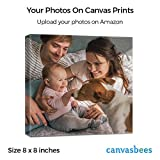 CanvasBees - Your Photos To Canvas on Museum Quality Cotton Blend Canvas - 0.75 Inch - (8 x 8)