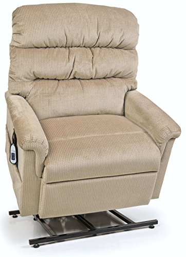Collection Large Lift Chair - Montage Collection UC542-ME6 Large Wide Lift Chair Recliner - Oatmeal (curbside delivery)