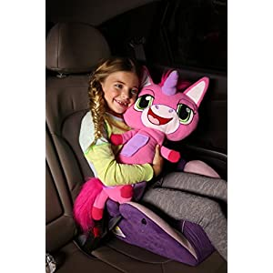 Jay at Play Seat Pets (Unicorn) by As Seen on TV - Kids Seat Belt Car Travel Pillow and Plush Animal Toy – Compatible with Any Safety Belt to Provide Head & Neck Support