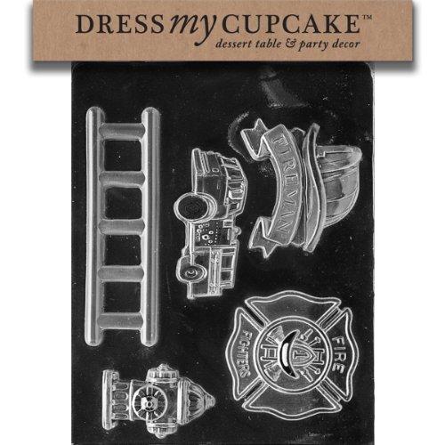 Dress My Cupcake Chocolate Firefighter
