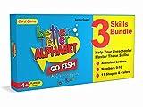 Better Letter Alphabet Go Fish Card Game - Includes: Alphabet Go Fish, Number Go Fish, and Shapes and Colors Go Fish