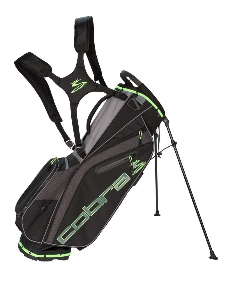 Cobra Golf 2019 Ultralight Stand Bag (Black-Green) by Cobra