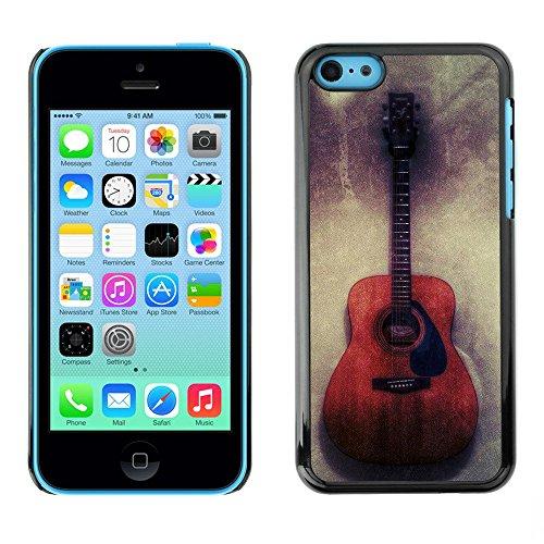 Hülle Case Schutzhülle Cover Premium Case // F00002875 Gitarre // Apple iPhone 5C