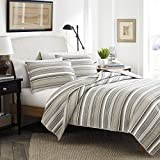 Stone Cottage Fresno Cotton Quilt Set, King, Neutral