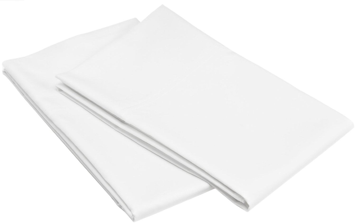 Bulk Pack of 24 King Size Pillowcases, White 300 Thread Count, 20''x40'' Solid White 2 Dozen, Perfect for Physical Therapy Clinics, Hotels, Camps by Arihant Bedding (Image #2)