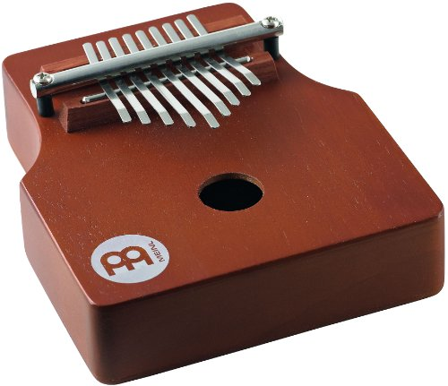 Meinl Percussion KA9P-AB Pickup Kalimba With Wah Wah Effect, African Brown