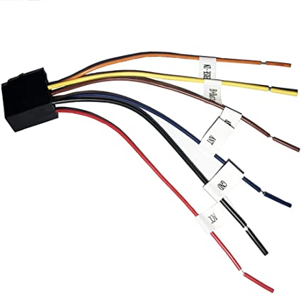 amazon.com: car stereo radio wiring harness antenna adapter for 7 inch  double din car stereo chevy nissan jeep grand toyota honda: car electronics  amazon.com