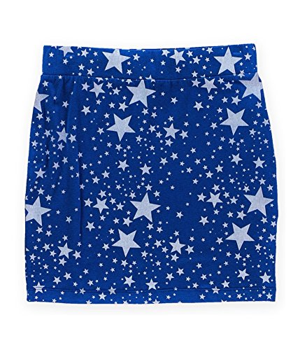 Big Star Womens Stretch Graphic Mini Skirt midnightstars S - (Big Star Mini Skirt)