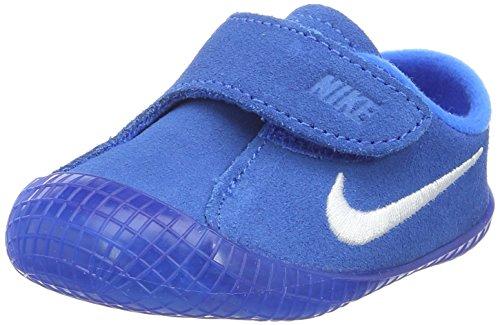 (Nike Waffle 1 (CBV) Baby Shoe (2 M US Toddler, Photo Blue/White))