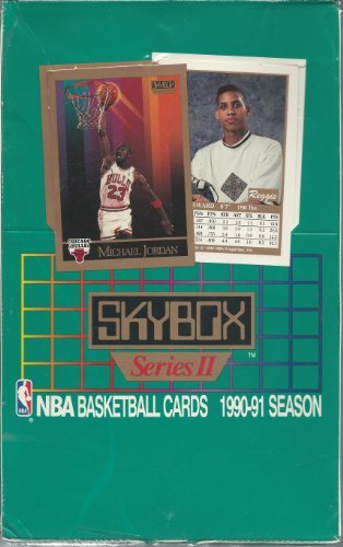 1990-91 Skybox Basketball Cards Series 2 Box ()