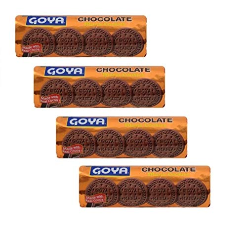 GOYA Maria Chocolate Cookies 200 grs. / 7 oz. – 4 PACK.