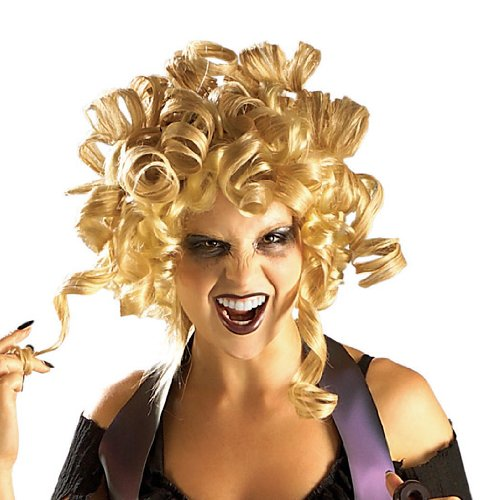 Wig Goldilocks Blonde (Rubie's Costume Ghouldilocks Wig, Yellow, One)