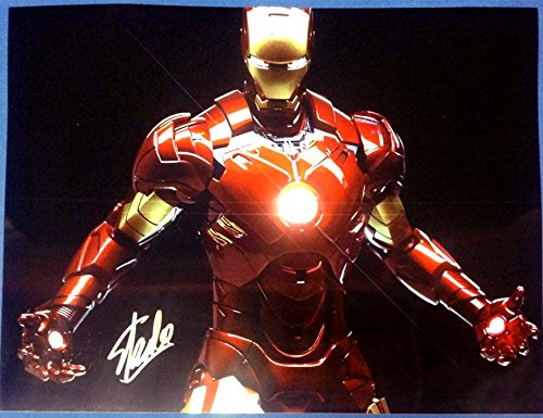 Stan Lee - Iron Man - Signed HUGE 17x22 Photograph MINT with COA & Proof Picture