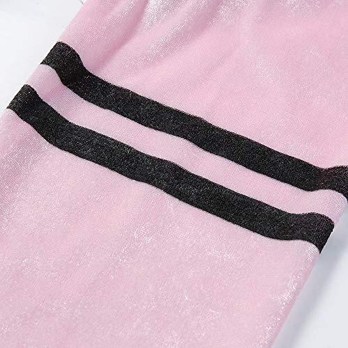 Baseball Dames Cardigan Sodial Femme Veste Rose Foulard Pour Couleur Les Rayé Automne Imprimées De Nouveau S Taille Lache Pure Grande Uniforme Avec Manches Manteau TTR6ECq