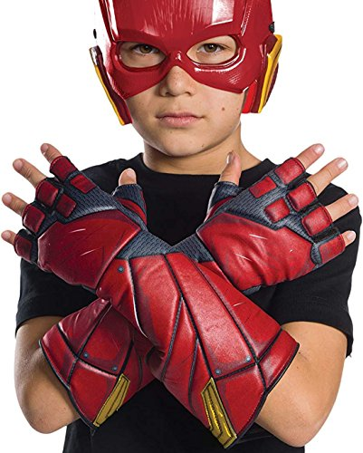 Rubie's Costume Boys Justice League Flash Gloves Costume,