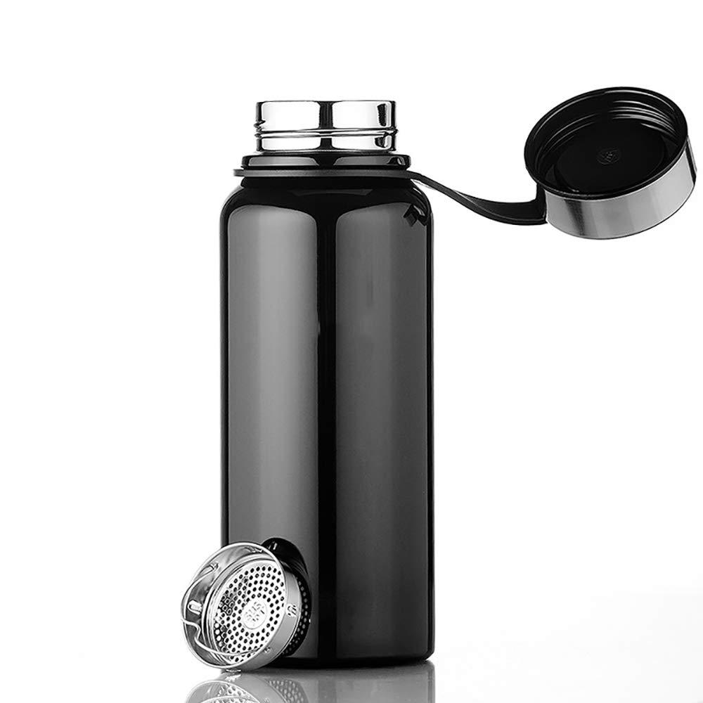XIAOHE Vakuum Isolierter Reisebecher, Reisebecher, Reisebecher, tragbar, auslaufsicher, doppelter Edelstahlbecher, Edelstahlflasche, Vakuum Thermosflasche, geeignet für Outdoor-Sportarten oder Geschenke B07NXWKFMD | Schönes Design  6322d5