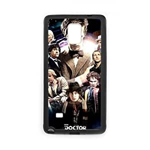 Doctor Who Samsung Galaxy Note 4 Cell Phone Case Black PQN6053055372428