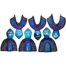 Dental Impression Trays Plasma Coated Set of 6 Quick Cleaning