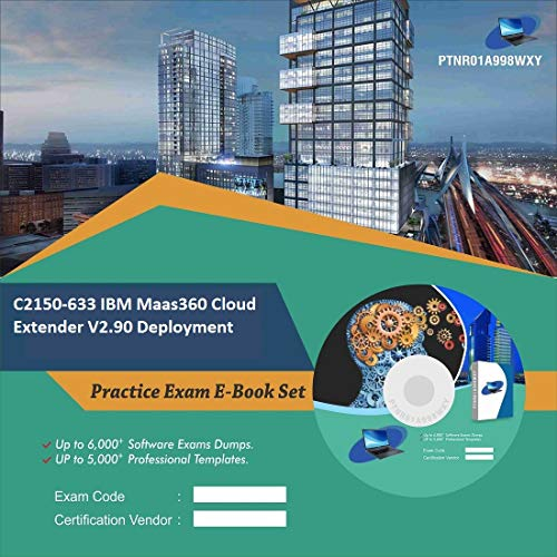 Used, C2150-633 IBM Maas360 Cloud Extender V2.90 Deployment for sale  Delivered anywhere in USA
