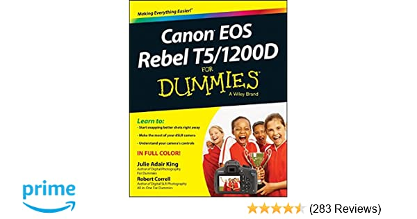 Canon Rebel Book For Dummies