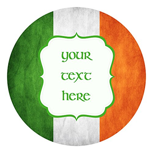St. Patrick's Day Irish Cake Topper 7.5 Inch Personalised Edible on Icing Sheet with HI-RES Image