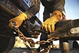 Men's Premium Cowhide Leather Work Gloves