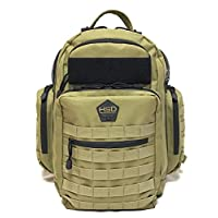 HSD Tactical Diaper Bag Backpack + Changing Pad, Insulated Pockets, Stroller ...