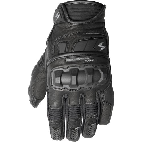 Scorpion Klaw II Men's Leather Street Motorcycle Gloves - Black/Large (Gloves Scorpion Klaw)