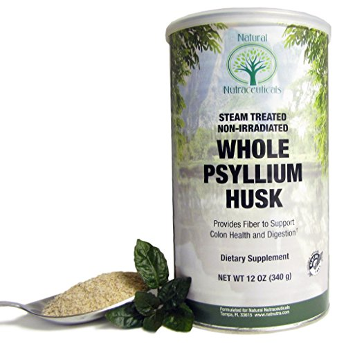 Natural Nutra Whole Psyllium Husk Powder, Soluble and Insoluble Fiber, 12 Oz, 81 Servings (Psyllium Husk For Baking compare prices)